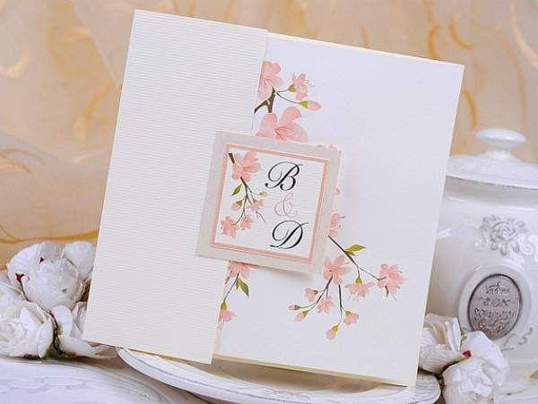 invitaciones para bodas color rosa