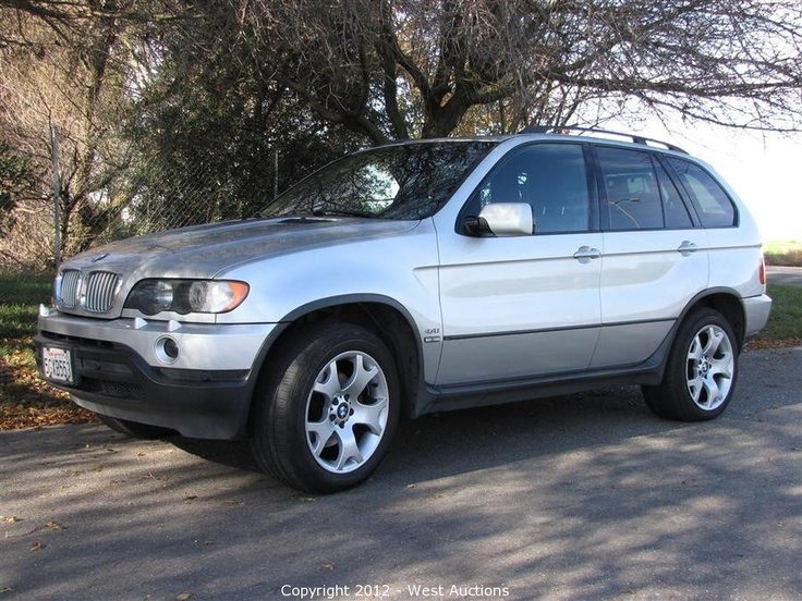 2001 BMW X5 Bidding on this item starts Tuesday, January