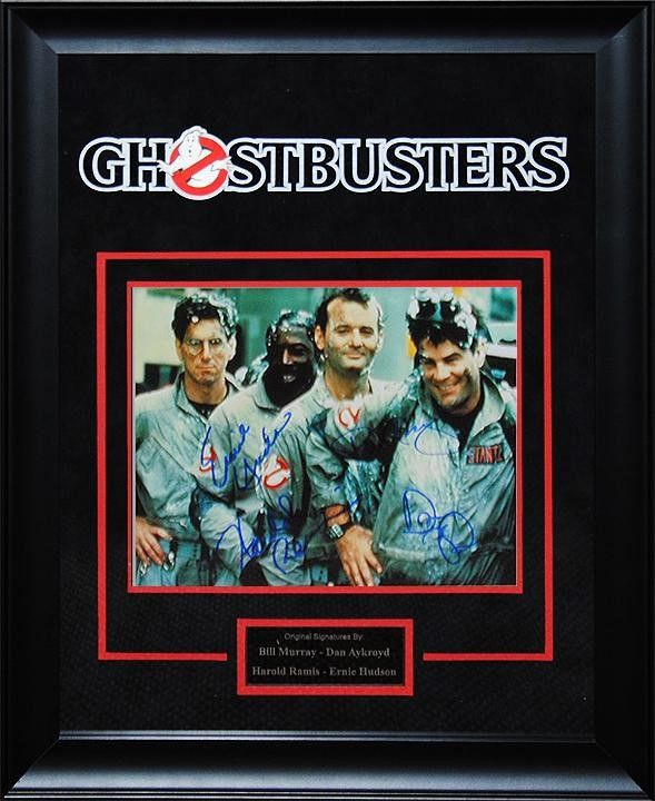 """Autographed """"Ghostbusters"""" 1984 Cast Signed 8x10 Photo Collage"""