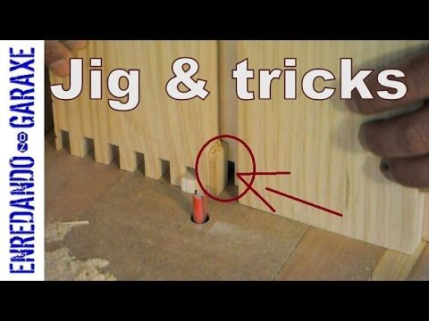 How to make and use a finger joint router table jig - YouTube Sergio Acuña Padin