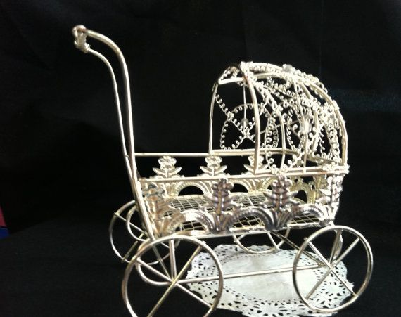 Vintage Baby CarriageWire Baby CarriageBaby by PartyFavorsMiami, $16.99@jaydebugs