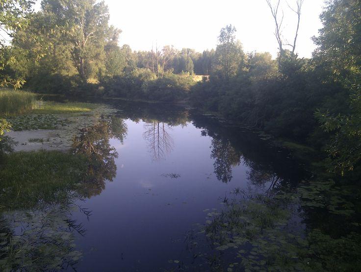 Kiev. Bobrovnya river.