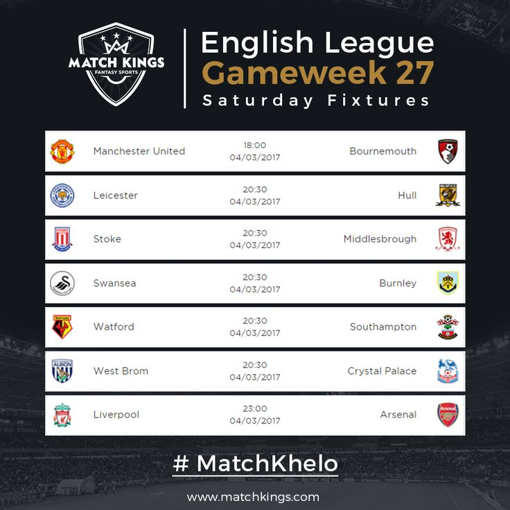 Gameweek 27 kicks off with 7 matches today! Fantasy Football managers, get ready for another week of excitement! Pick your teams on www.matchkings.com now! #MatchKhelo #pl #fpl #fantasysoccer #soccer #fantasyfootball #football #fantasysports #sports #fplindia #fantasyfootballindia #sportsgames #gamers  #stats  #fantasy #MatchKings