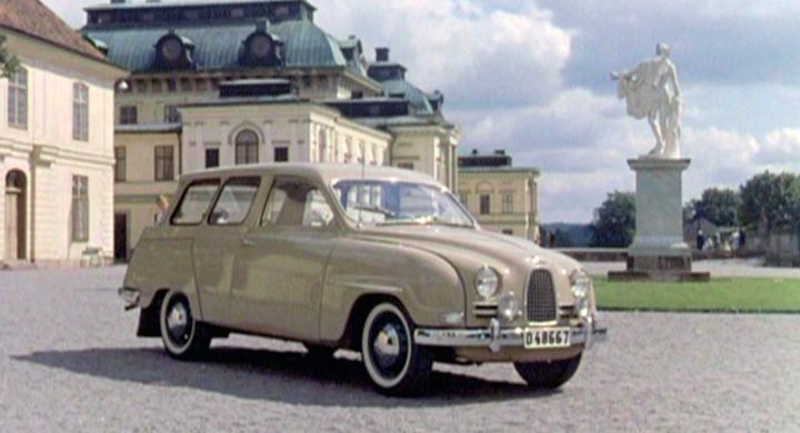 Bilreklam från förr: Saab 95