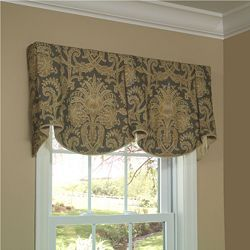 Sheffield Valance - Board and Pole Mounted Valance - Valances and Swags - Windows - Calico Corners