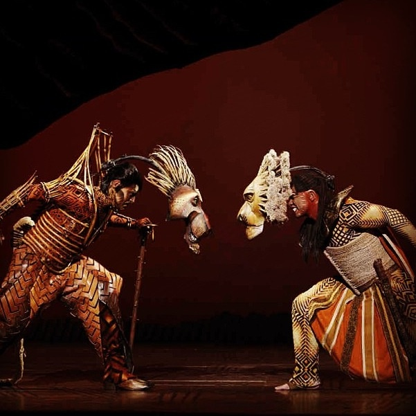 The Lion King - Broadway; literally the best show I've ever seen