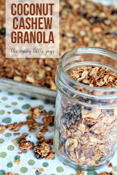 Granola, Coconut and Fruit parfait on Pinterest