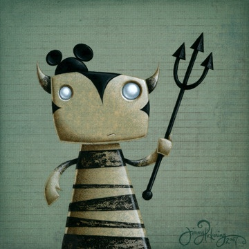 Cute monsters by Jimmy Pickering