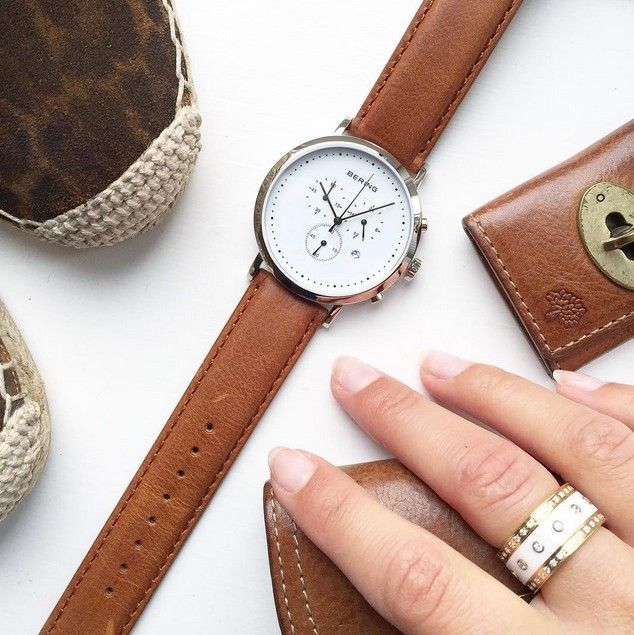 Classic watch and ring combination; Classic Collection; Arctic Symphony Collection