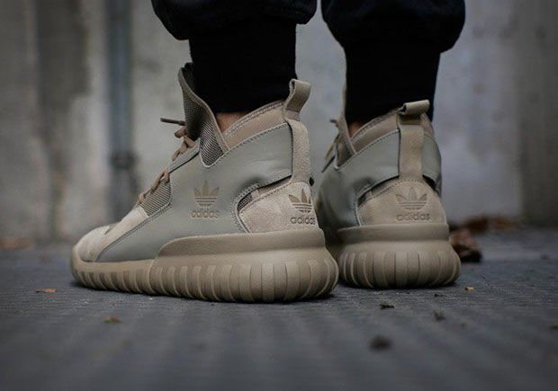 The adidas Tubular X gets a smokin' new colorway this winter with this 'Hemp' version in light tan. The look features some obvious inspiration from Kanye's Yeezy apparel line to match the silhouette's Yeezy Boost 750 influence, with a fatigue-like … Continue reading →