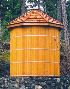 Forest Lumber & Cooperage offers Wood Water Tanks and Rainwater Storage Tanks for the US and Canada. Click here for more info on pricing.