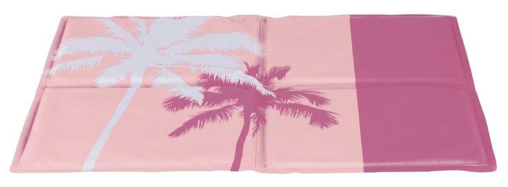 Koelmat gel hond roze