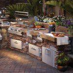 40 atemberaubende Design-Ideen für Outdoor-Küchen