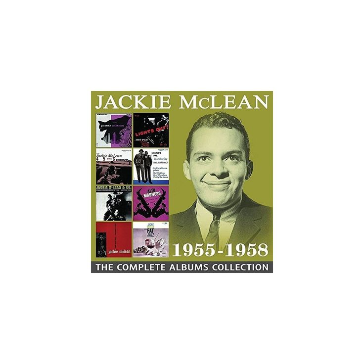 Jackie McLean - Complete Albums Collection 1955-1958 (CD)