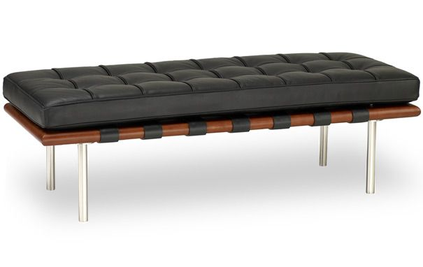 Barcelona 2 seater bench http://www.cadesign.ie/furniture/chaises-longues-day-beds-benches/barcelona-2-seater-bench-1/