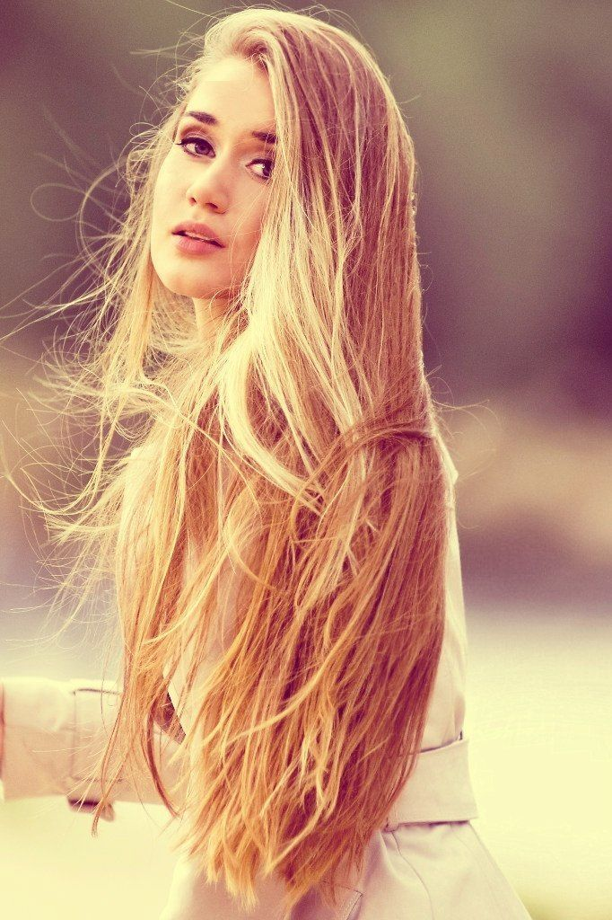 Golden Long Hair