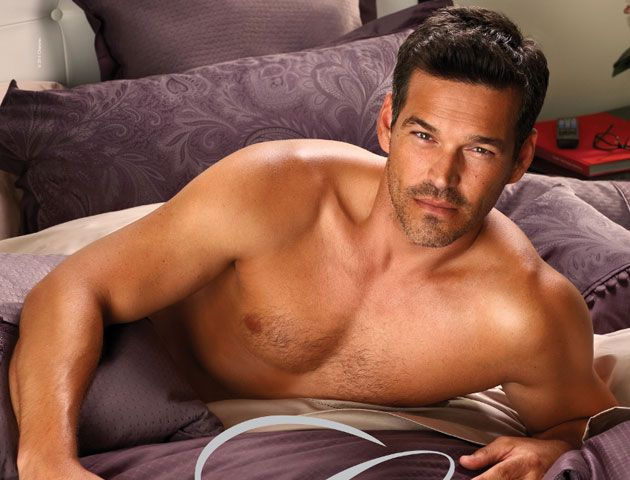 Ok.  I don't know what Eddie Cibrian is selling - but I'll take it!