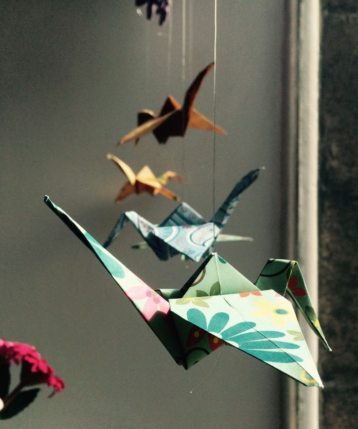Paper Birds window