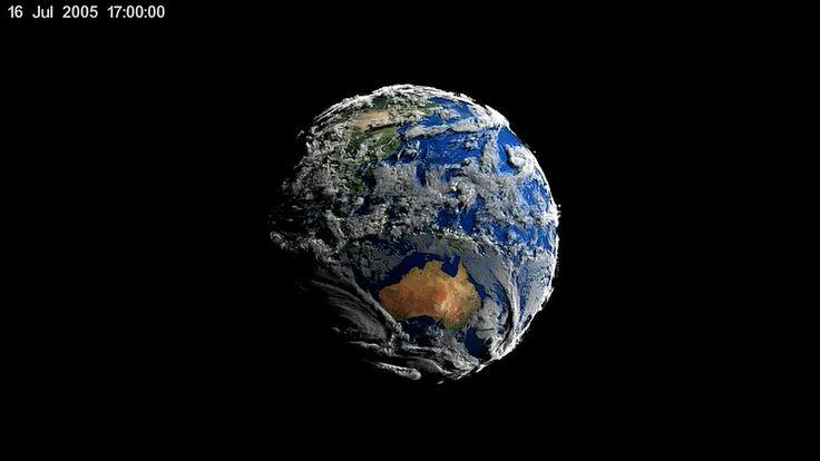New NASA 3D Animation Shows Seven Days of Simulated Earth Weather