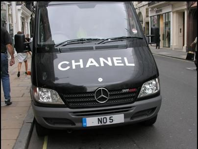 What do you think of this? Chanel car with the #licence #plate No.5 -Thanks to Bing Images for the pic!