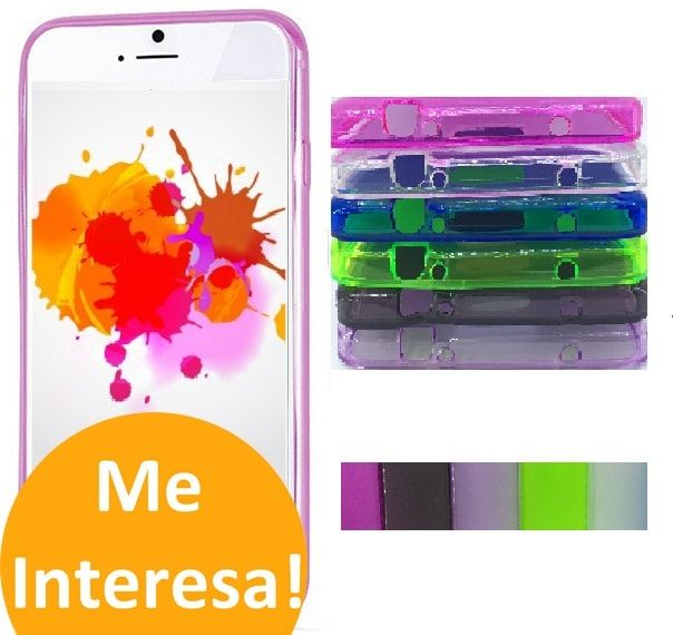 Funda Carcasa Movil Gel Flexigel Colores Para iPhone 5 - http://complementoideal.com/producto/fundas/funda-carcasa-movil-gel-flexigel-colores-para-iphone-5/  - La Funda Carcasa Para Teléfono Móvil es muy flexible, adaptándose a tu dispositivo móvil como si de un guante se tratase. De fácil Adaptación, tendrás acceso a todas las ranuras del teléfono móvil o entradas, para utilizarlo sin tener que quitar la carcasa protectora. Esta Funda Carcasa de Gel es...