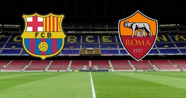 Trực Tiếp : Barcelona vs Roma