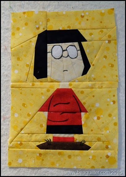 Peanuts paper piece quilt Free Patterns