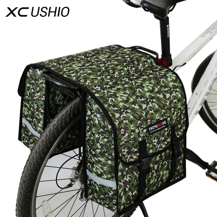 35*32*14CM Large Size Container Double Side Bicycle Luggage Travel Bags Waterproof Bike Rear Rack Luggage Container Bag Panniers