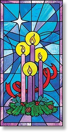 Celebrate Advent Canvas Banner