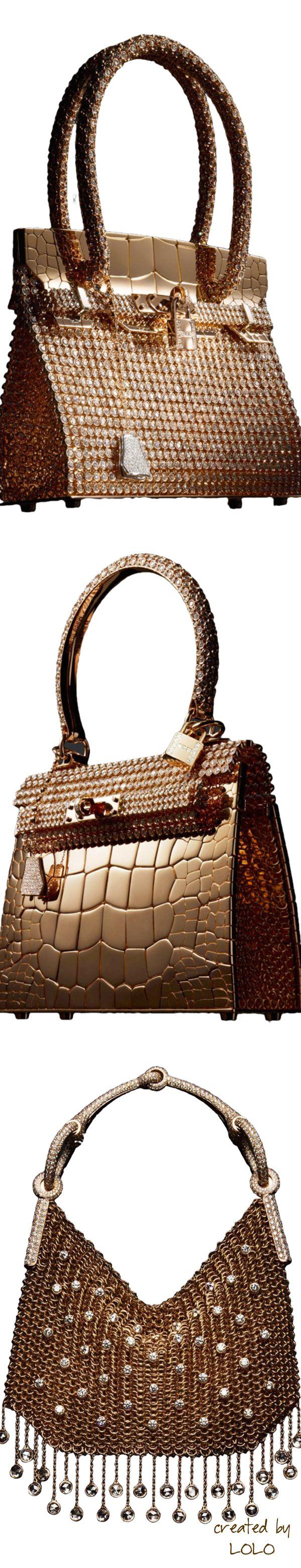 Hermès Birkin sac-bijou .~Hermès Kelly Sac-Bijou~Hermès Nausicaa Sac-Bijou  | LOLO