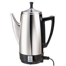 02811 ELECT PERCOLATOR 4/12CUP by NATIONAL PRESTO. $50.44. 4/12CUP ELECTRIC PERCOLATOR. 02811 ELECT PERCOLATOR 4/12CUP. Brews great tasting coffee, rich, hot, and fast. Makes two to twelve cups of rich, flavorful coffee at cup-a-minute speed, then keeps it piping hot automatically. Signal light tells you when coffee is ready to serve. Stainless steel construction for lasting beauty and easy cleaning.. Save 11% Off!