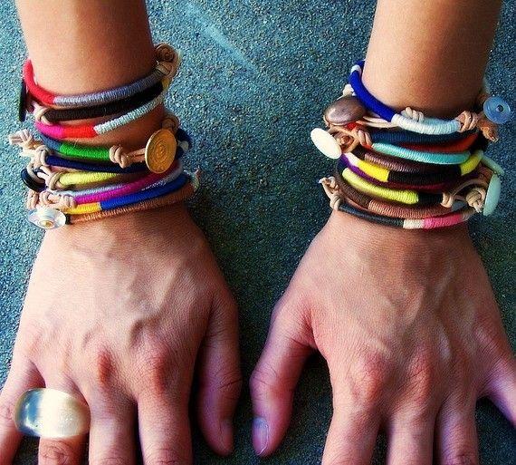 i love these bracelets. maybe my secret santa could make them? (if it's not joe).