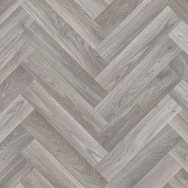 Herringbone Vinyl Flooring Grey Wood Effect One Metre Wide Sheet Buy Online