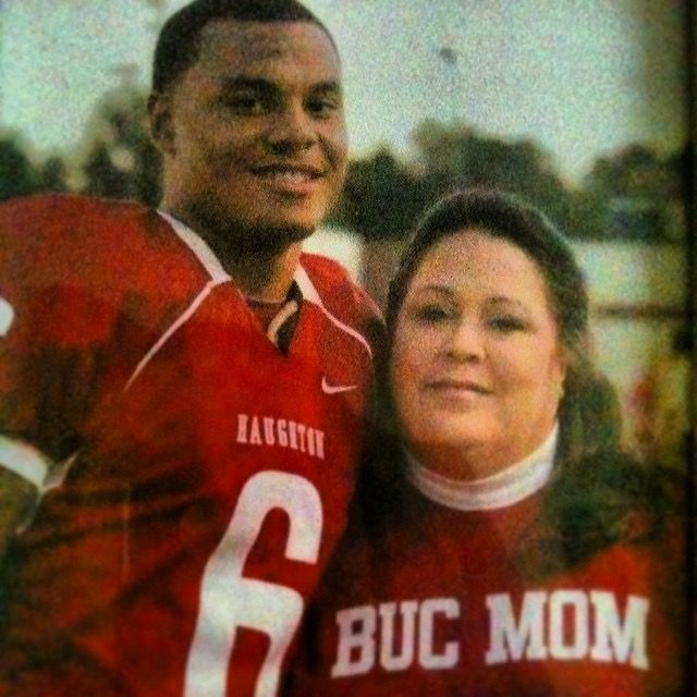Dak and mom-She was such a beauty. She raised such a fine young man. I know she must still be smiling down at him from the Heavens. ❤
