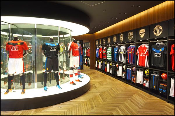 soccer store  | What: Nike Harajuku Flagship Store Address: 1-13-12 Jingumae…
