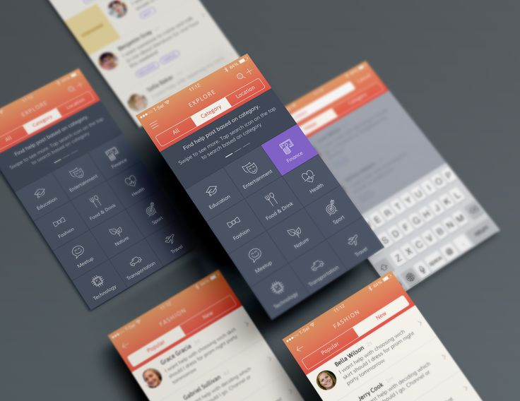 Dribbble - Category-page-big.png by Bady