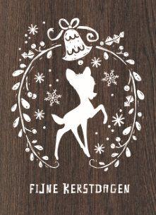 Disney heeft een hoop vrolijke kerstkaarten! Verras met Bambi. #Hallmark #HallmarkNL #kerst #inspiratie #kerstmis #christmas #x-mas #xmas