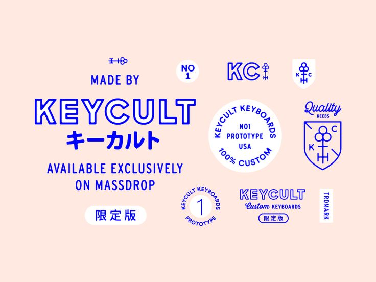 I had the privilege of working on some identity work for keyboard-creating collective Keycult. It's no secret i have an unhealthy obsession with collecting keyboards so this was an awesome project ...