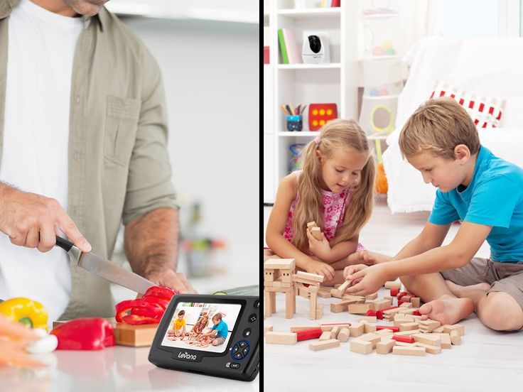 Worry less and take more time to cook delicious dinners with the Ovia 2 Camera Monitor by your side! #WorryLessPlayMore