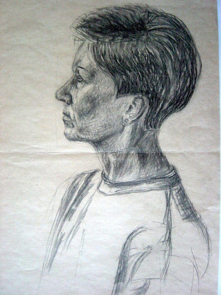 Woman from neighborhood, 1993 by Fymart on DeviantArt