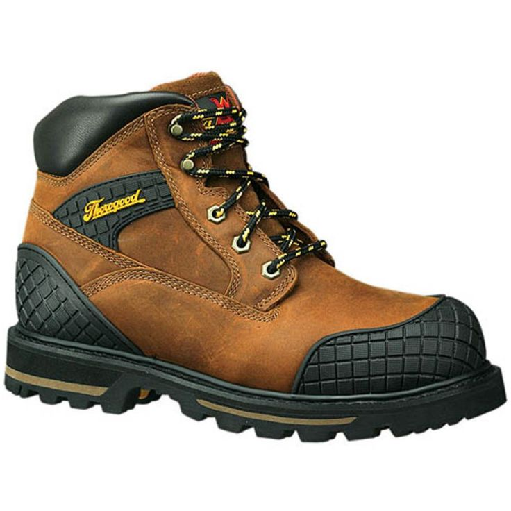 "6"" Steel Toe Hiking Boots"