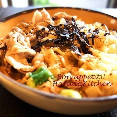 【今日はつけ麺風?】食べ方いろいろ「ごま味噌うどん」で満足ランチ!