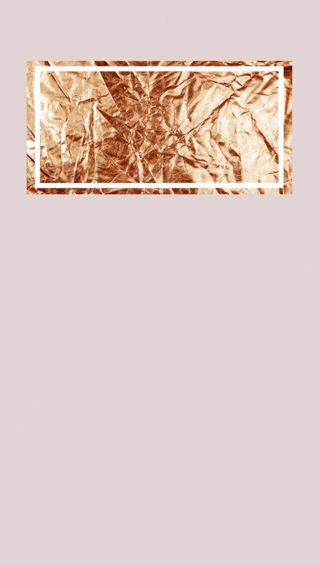Rose Gold Lock Screen Wallpaper