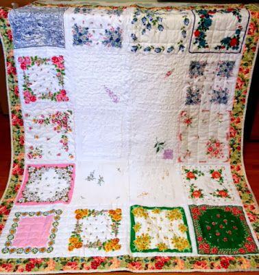 jodyjean quilts & crafts Hankie quilt