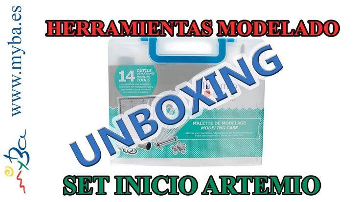 Materiales básicos para modelado, cómo usar. Unboxing maletín herramientas modelado Artemio. - YouTube