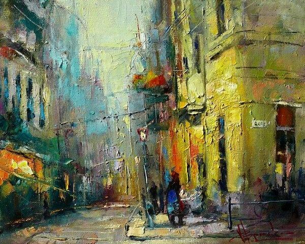 Waclaw Sporski - The Street of Peter