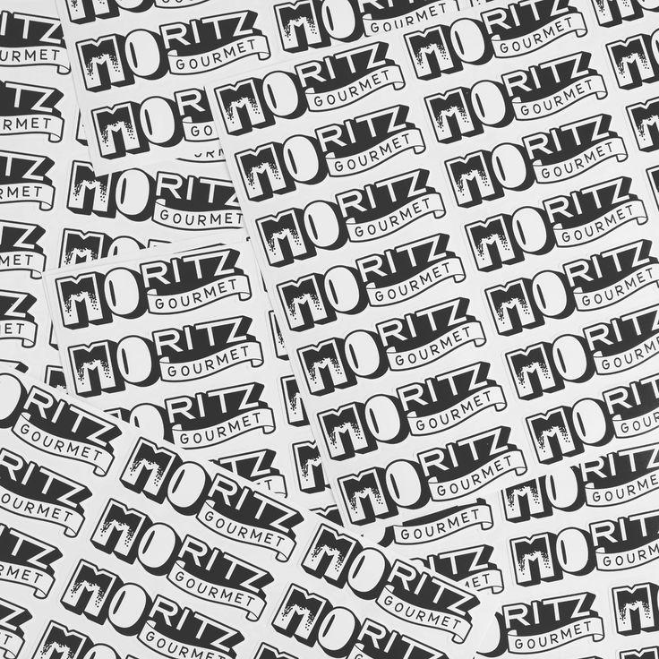 Moritz Gourmet Stickers
