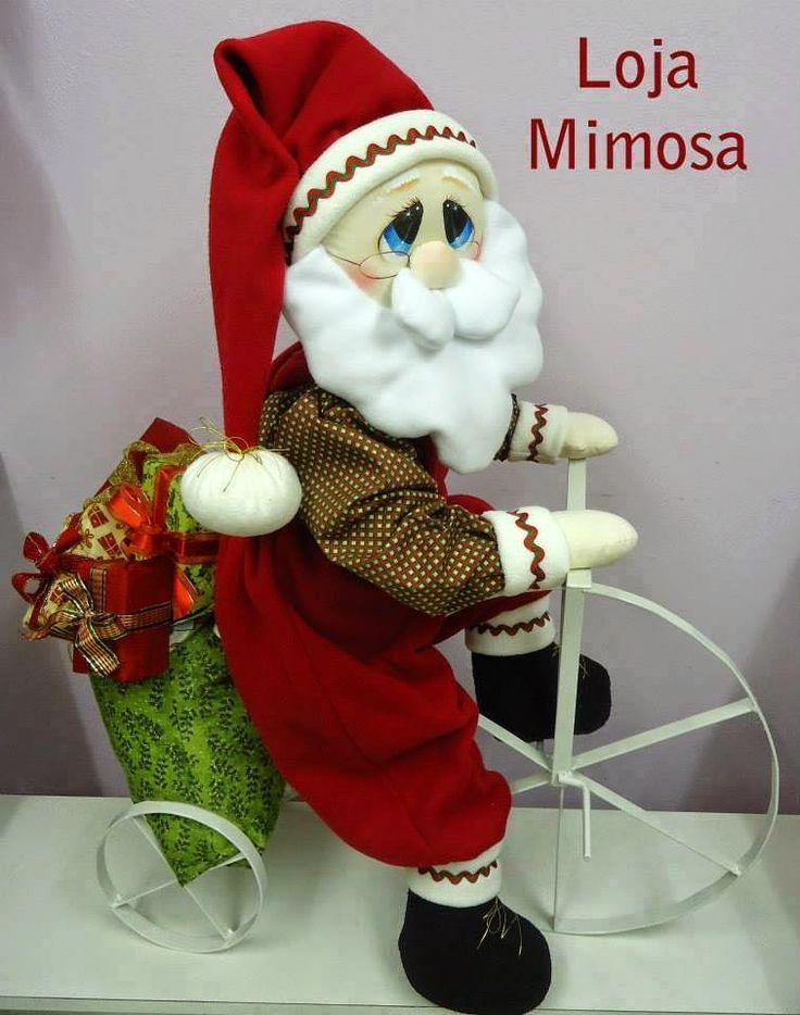 Papai Noel con molde