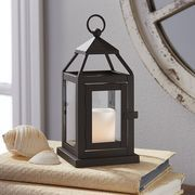 PURCHASED: 6 small lanterns with battery candles for aisle