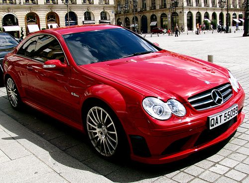 Mercedes CLK AMG Black Series.